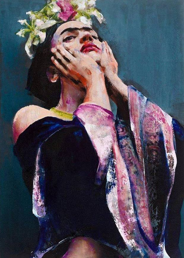 Frida, by Lita Cabellut