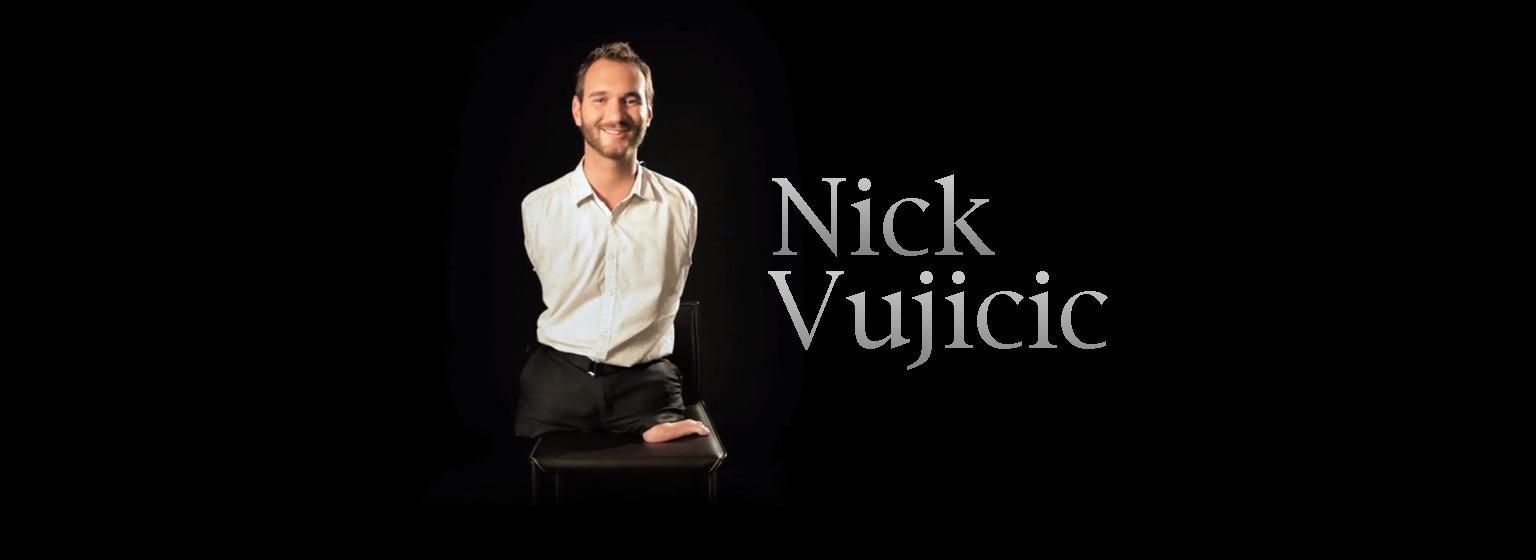 Nick Vujicic Uma Grande História De Superação A Soma De