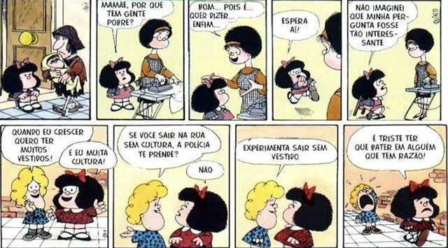 Melhores Tirinhas da Mafalda