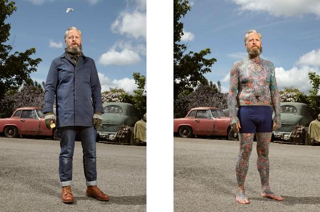 tatuagem (Foto: Reprodução/Alan Powdrill)