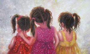 Uma Irmã é Mais Do Que Uma Amiga é A Metade De Nosso Coração