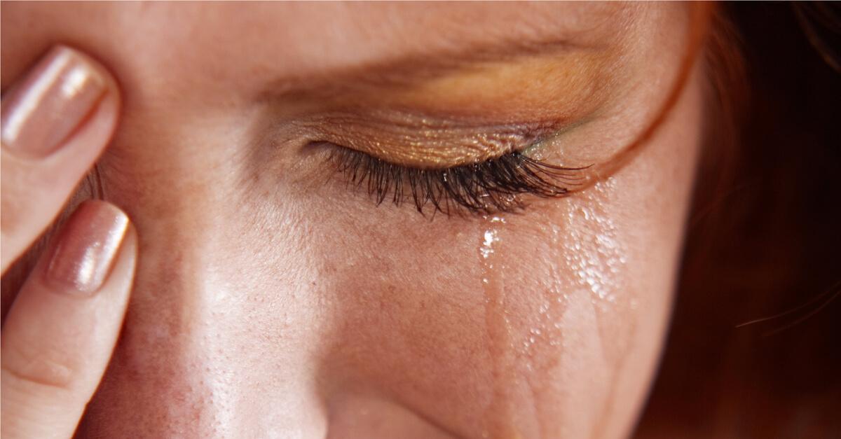 Quando Você Chora A Perda De Uma Pessoa, Você Está Triste