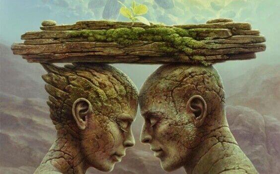 A teoria do espelho: feridas que formam e quebram relacionamentos